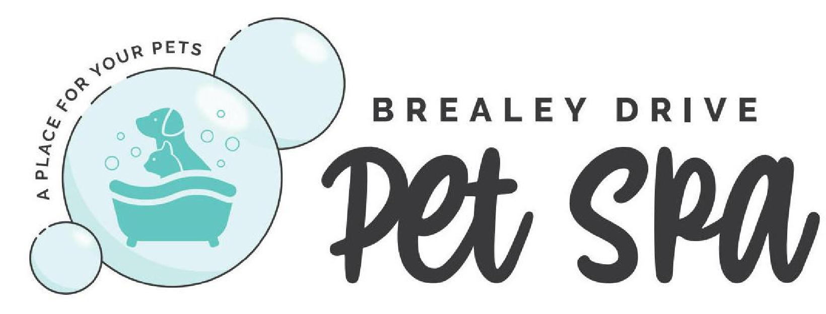 Pet Spa Webpage Header